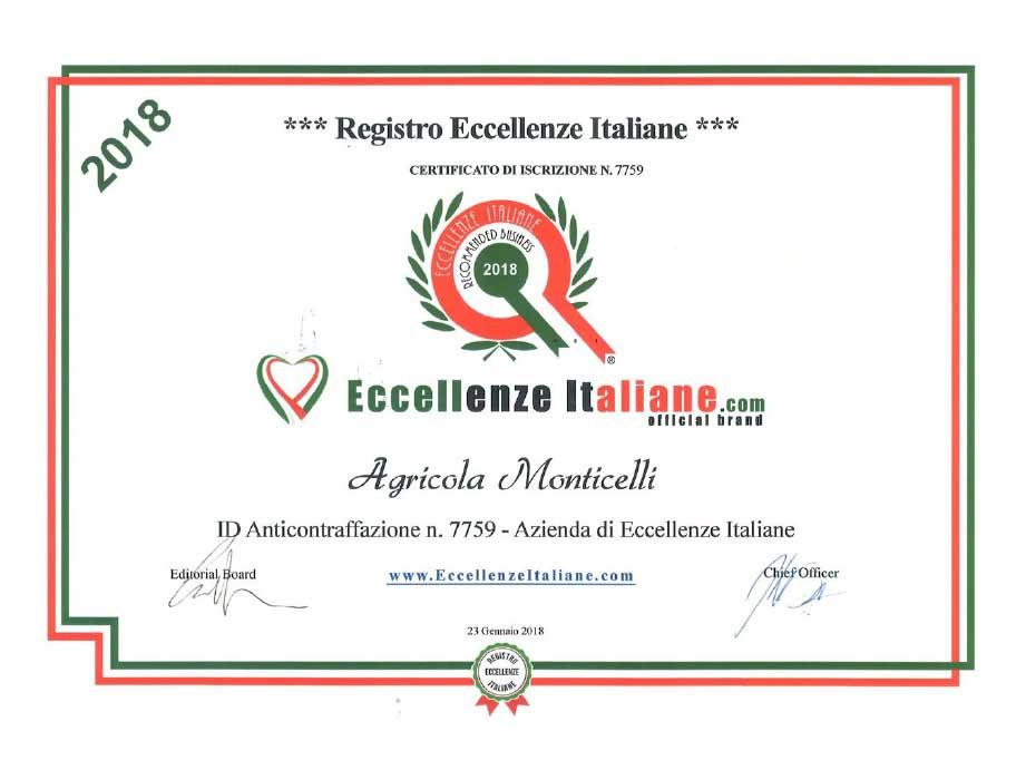 Attestati-Eccellenze-Italiane-Agr.-Monticelli-2018