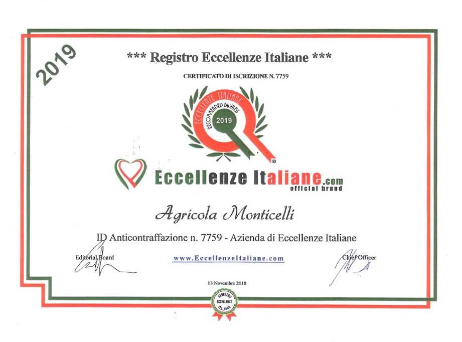 Attestati-Eccellenze-Italiane-Agr.-Monticelli-2019